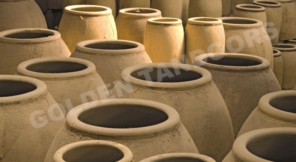 Various Sizes of Tandoori Pots
