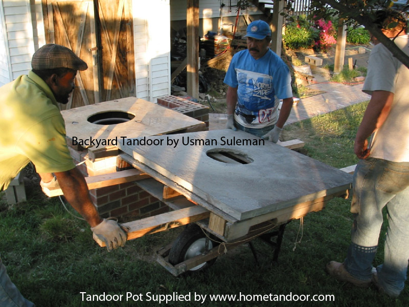 Building a back yard tandoori oven - Golden Tandoor