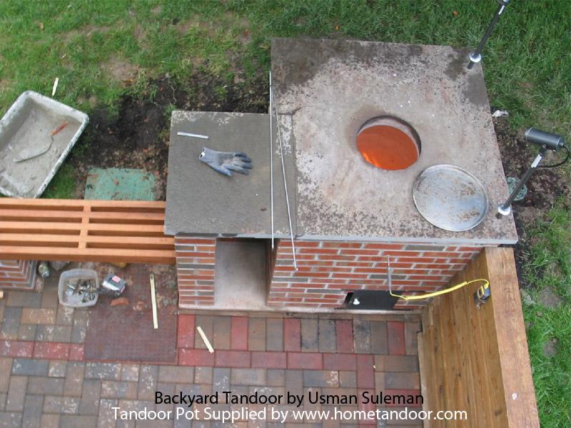 backyard tandoor oven